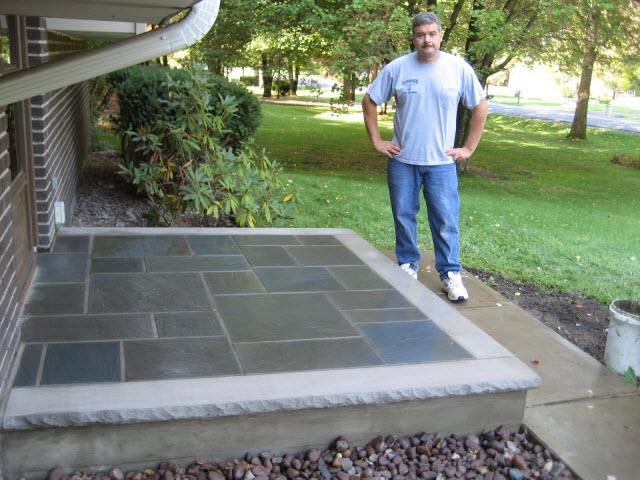 Dempski Masonry Concrete Contractor Brick Porch Repair