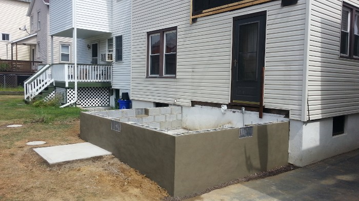 how to build a foundation for a home addition