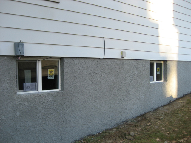 Dempski masonry stucco contractor parging resurfacing for Concrete block stucco